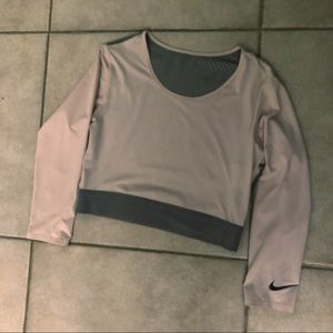 Nike pro hypercool crop top